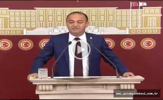 CHP'li Vekil Özgür Karabat : Gölet ile Alakalı  Sert Eleştiriler yaptı