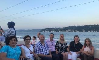 Avrasya İkinci Yıl Coşkusunu Boğaz'da Yatta  Kutladı
