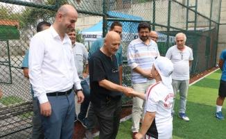 Başkan Altınok Öz Spor Yaz Okulu'nu Ziyaret Etti
