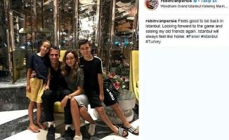 Persie ailesinden İstanbul paylaşımı
