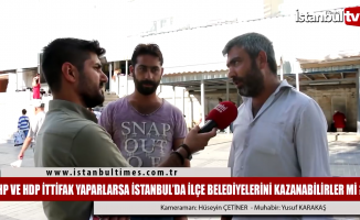 İstanbul'da CHP ve HDP ittifak yaparsa