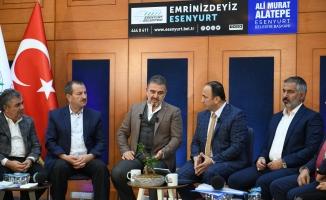 """Başkanı Ali Murat  Alatepe:  """"Bürokrasiyi hızlandıracağız"""""""
