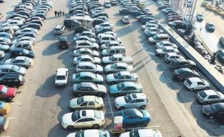 Yediemin otoparklarındaki araç sayısı 300 bini geçti