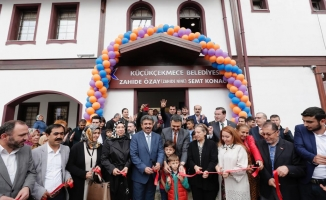 Zahide Nine Semt Konağı'nın resmi açılışı gerçekleştirildi