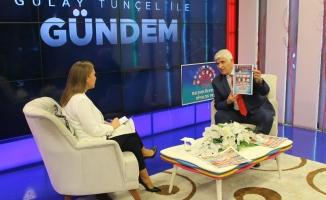 Çetiner,Gülay Tunçel ile Gündem'in Konuğu oldu