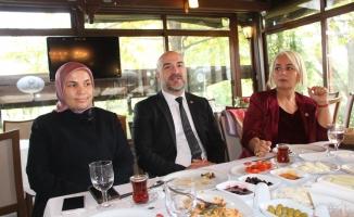 CHP'li Erdemir basın mensupları ile bir araya geldi