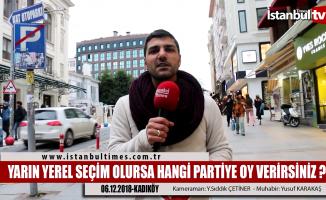 Kadıköy'de yerel seçim heyecanı