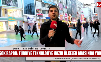 ''Türkiye Teknolojiye Hazır Ülkeler'' listesinde yok!