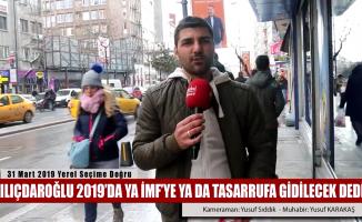 Kılıçdaroğlu'dan 2019 için ciddi uyarı geldi
