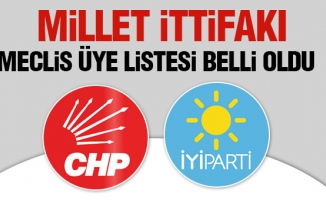 CHP, İYİ Parti Arnavutköy belediye meclis üye listesi