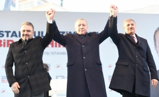Esenyurt'ta Cumhurbaşkanı halk buluştu