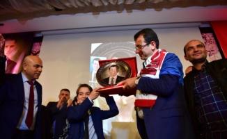 İmamoğlu'na Erzincanlılar'dan sevgi seli
