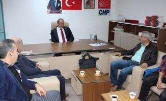 Turan Hançerli Sendika Başkanları ile Bir Araya Geldi