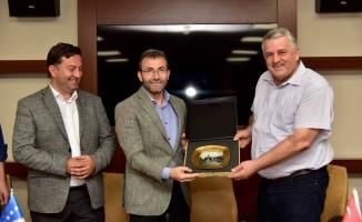 Kosovalı Belediye Başkanları Pendik'te Dev Tesisi İncelediler