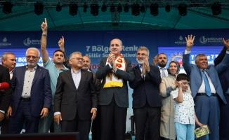 Numan Kurtulmuş, 7 Bölge 7 Renk Festivali'nde Bolu, Sivas ve Kayserililerle buluştu