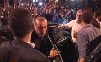 Erdoğan:Üç Sene Sonra Aynı yerde Halka Hitap ederek Darbeciler Hesap veriyor dedi…