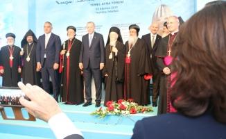 Erdoğan Süryani Kilisesinin Temelini Attı
