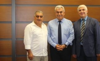 Malatyalılardan İlçe Milli Eğitim Müdürüne Ziyaret