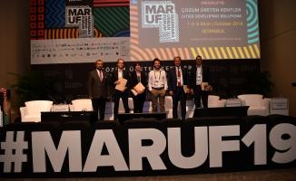 Çalik, Maruf'a Konuşmaci Olarak Katildi