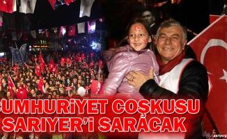 Cumhuriyet Coşkusu Sarıyer'i Saracak