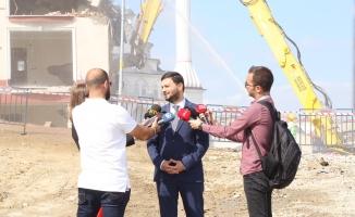 Yahya Kemal'deki Tüm Riskli Yapılar Yıkıldı