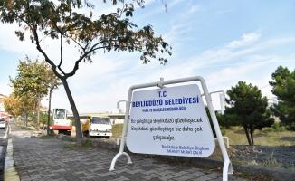 Beylikdüzü Belediyesi, Yakuplu'ya Yeşil Alan Kazandırıyor