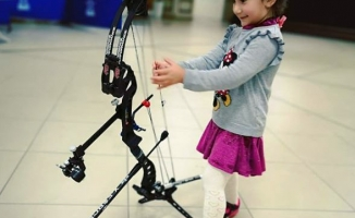 Engelli sporcunun hayatı kızı Berfin'in doğuşuyla tamamen değişti