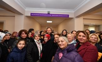 Maltepe Belediyesi kadınlar için Sosyal Yasam Merkezi'ni hizmete açtı