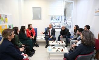 Başkan Çebi'den Küçükçekmece'de Yılbaşı Ziyaretleri
