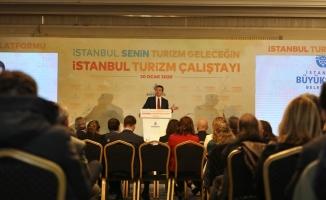 """Başkan İmamoğlu, """"Turizm Çalıştayı' nda Konuştu: """"50 Kişiyi İşe Alın Diyerek,Sorunu Çözemezsiniz"""""""