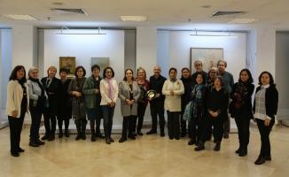 İki akademili sanatçının anısına resim sergisi açıldı