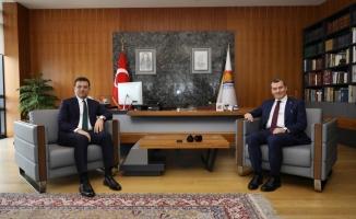 İmamoğlu Zeytinburnu Belediyesini Ziyaret Etti