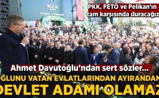 Davutoğlun'dan Ak Partiye Sert Sözler