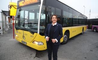 İett'nin Kadın Şoförleri Direksiyon Başında