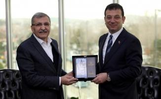İmamoğlu : Beykoz Belediye Başkanı Murat Aydın'ı Ziyaret etti