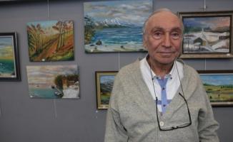 Orhan Meriçadalı Kişisel Resim Sergisi, Hasan Ali Yücel Kültür Merkezi'nde Açıldı