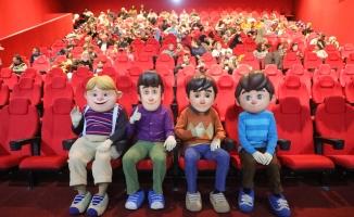 Özel Çocuklara Rafadan Tayfa'dan Özel Gösterim