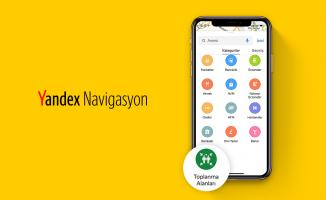 Yandex Haritalar Artık Afet Toplanma Alanlarını Gösteriyor