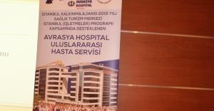 Avrasya Hospital'e Uluslararası Servis Geliyor