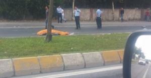 Başakşehir'de Motorsiklet kazasında ölüm