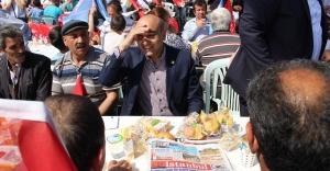 Başakşehir ve Bakırköy CHP Sokakta Halk Sofrası Kurdu