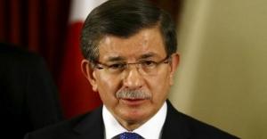 Başbakan Davutoğlu veda konuşması yapıyor