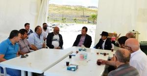 Başkan İmamoğlu, Denizde Kaybolanların Ailelerini Ziyaret Etti