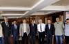 Başkan Kılıç partilerin ilçe başkanlarıyla buluştu