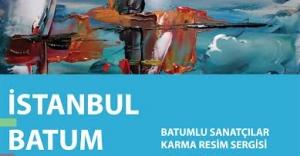 """Batumlu Ressamlar Karma Resim Sergisi""..."