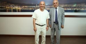 Bora Gezmiş'ten Başkan Öz'e Ziyaret