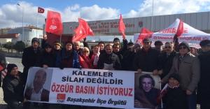 CHP Başakşehir Silivri'de Umut Nöbeti Tuttu