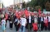 CHP Göleti sattırmayacağız diye proteto eylemi yaptı