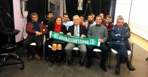 Arif Şentürk'ün,Tv Konukları, Tarihi Küçükayasofya Spor Kulübü Oldu!