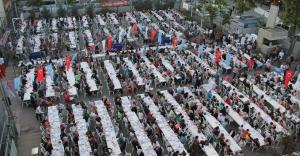 Gültepelilerden Mahalle İftarına Yoğun İlgi
